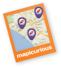 mapicurious.com logo - Find yourself among others @ mapicurious.com
